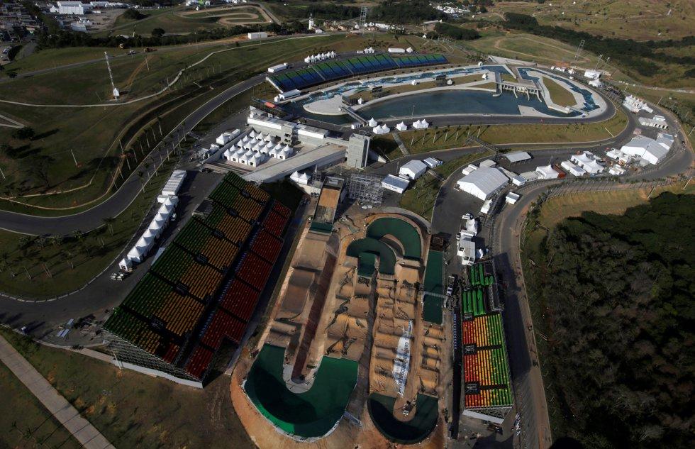 DEPORTES  | Vistas aéreas de Río 2016
