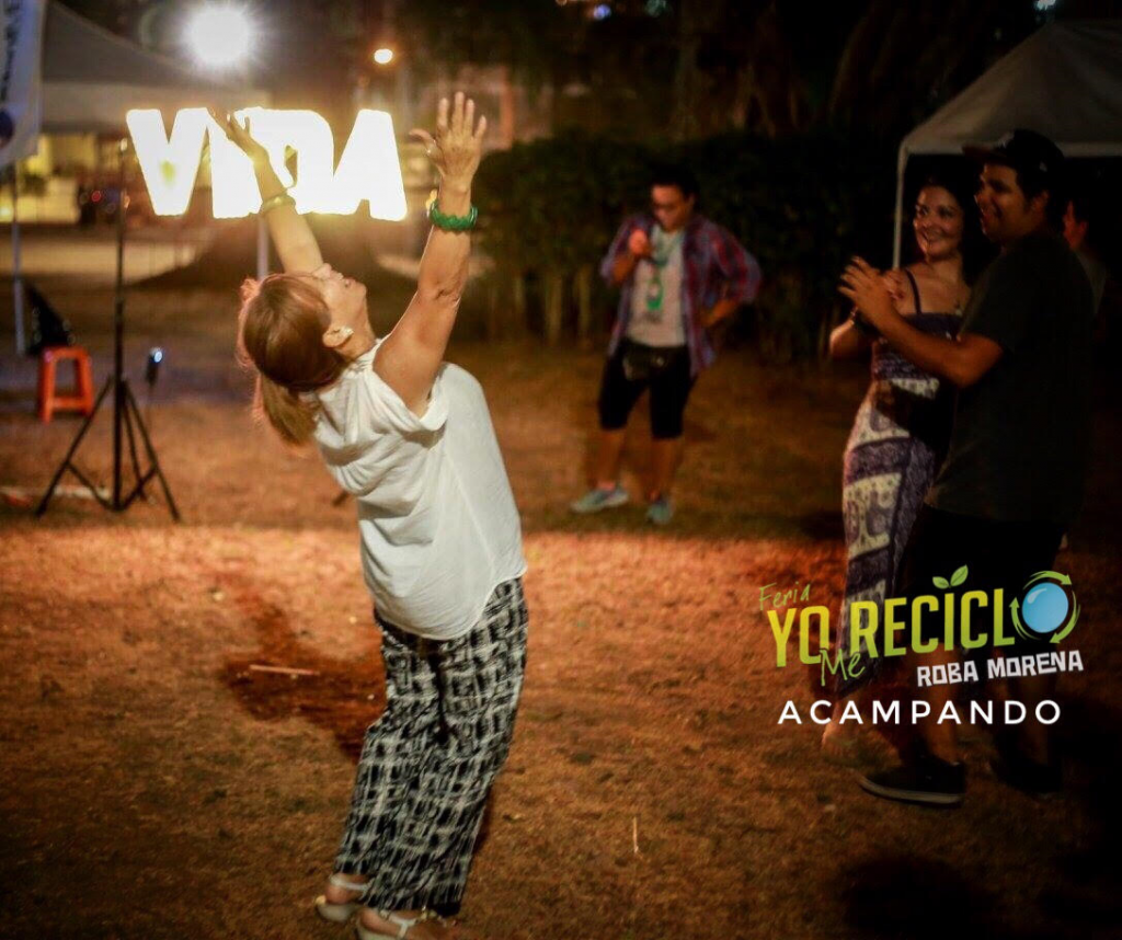 AGENDA  | FERIA YO ME RECICLO ACAMPANDO EN EL PARQUE METROPOLITANO