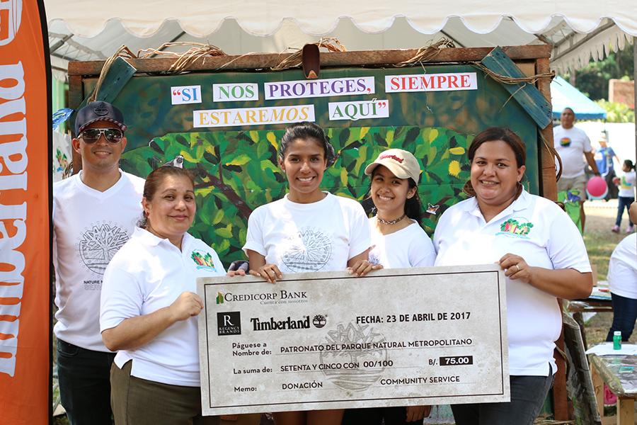 EMPRESARIALES  | TIMBERLAND ENTREGA DONACIÓN AL PATRONATO DEL PARQUE NATURAL METROPOLITANO