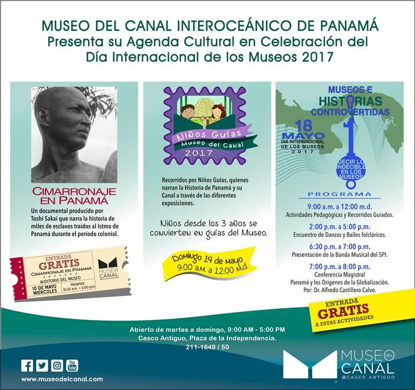 AGENDA  | MUSEO DEL CANAL INTEROCEÁNICO DE PANAMÁ PRESENTA AGENDA CULTURAL