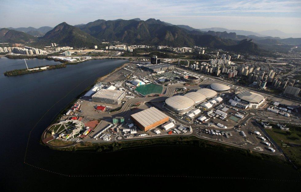 DEPORTES    Vistas aéreas de Río 2016