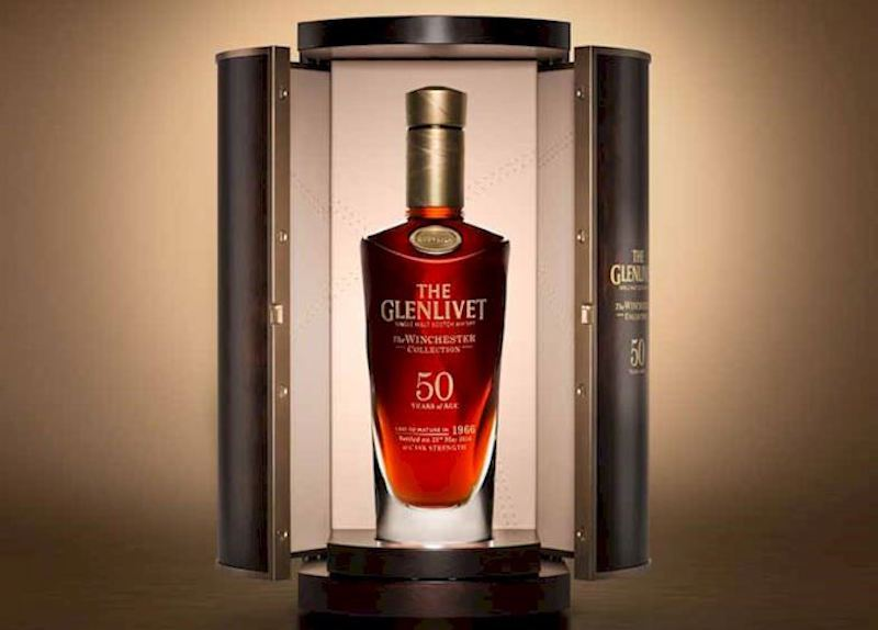 GOURMET  | The Glenlivet Winchester Collection presenta edición de 1966