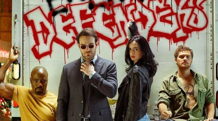 daredevil y jessica jones