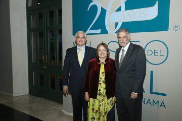celebración de los 20 años del museo del canal