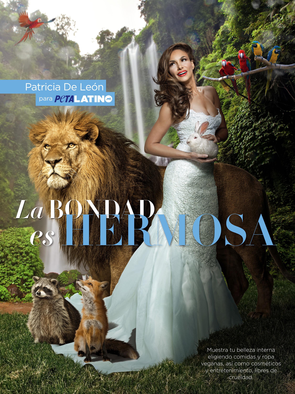 GENTE  | PATRICIA DE LEÓN, ACTRIZ PROTECTORA DE LOS ANIMALES
