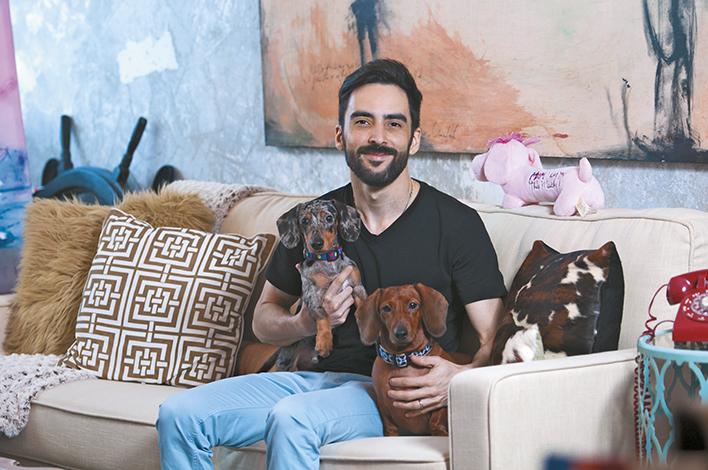 GENTE PET'S LIFE  | Gennaro Rodríguez y sus mascotas Crunch y Hershey