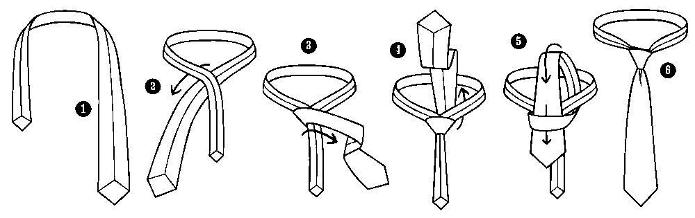 ELLOS MODA  | Nudos de corbatas