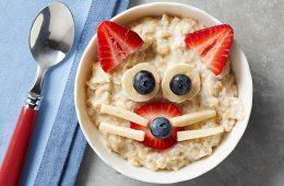 desayunos niños