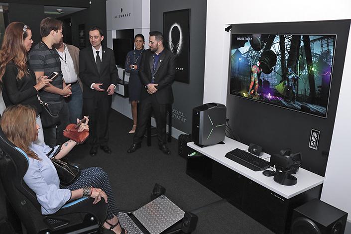 EMPRESARIALES EVENTOS  | DELL y la experiencia Alienware Room