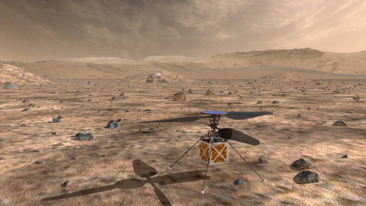 ESPECIALES TECNOLOGÍA  | Un helicóptero en Marte