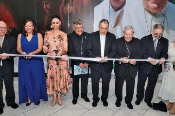Exposición museográfica de la JMJ en Albrook Mall