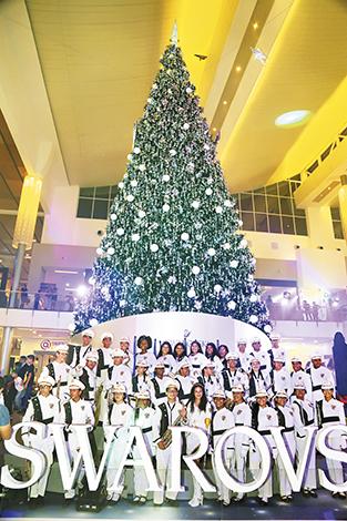 EMPRESARIALES EVENTOS ON THE SPOT  | Multiplaza inaugura su árbol Swarovski de navidad 2018