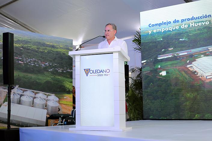 EMPRESARIALES EVENTOS    Toledano inaugura planta en Capira