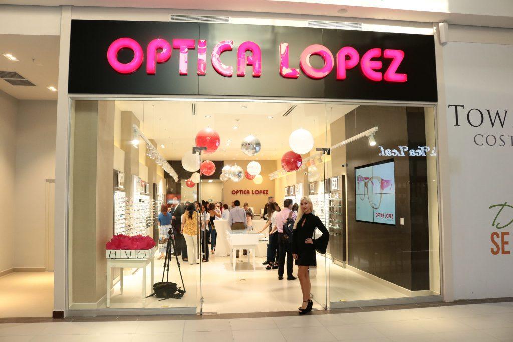 EMPRESARIALES EVENTOS  | ÓPTICA LÓPEZ ABRE SUCURSAL EN TOWN CENTER COSTA DEL ESTE