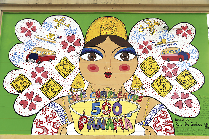 ESPECIALES  | Arte en murales por las calles de Panamá