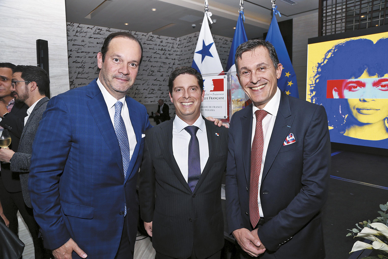 EVENTOS SOCIALES    La Embajada de Francia celebró su Día Nacional