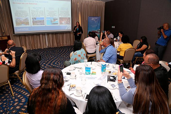 EMPRESARIALES EVENTOS  | Desayuno especial entre Copa Airlines, el Ministerio de Turismo y Aviación de Las Islas de Las Bahamas