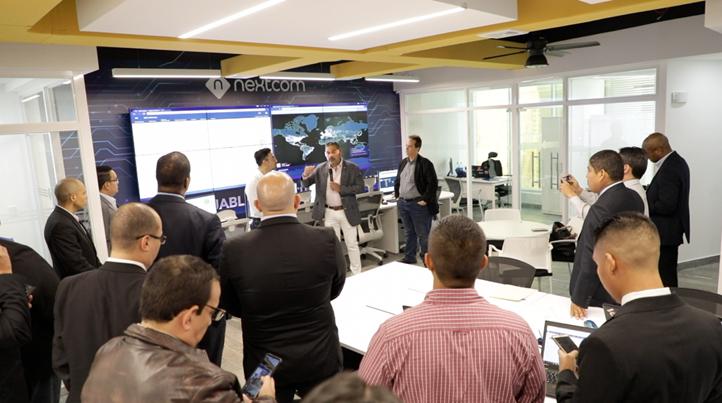 EMPRESARIALES EVENTOS  | Nextcom Systems inaugura nuevo centro de operaciones de seguridad
