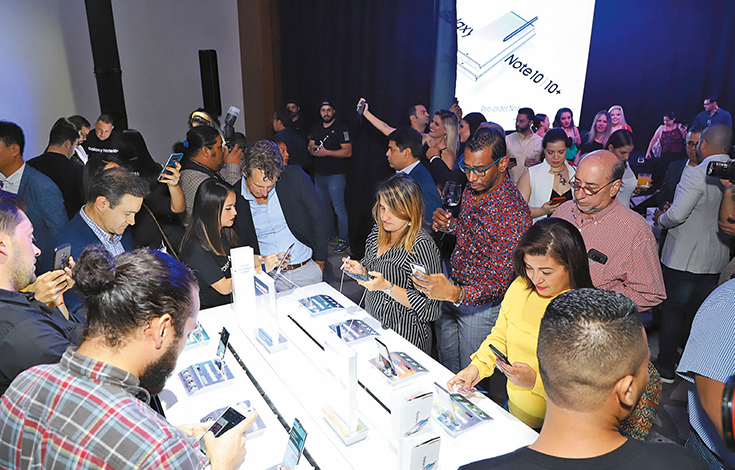 EMPRESARIALES EVENTOS  | Samsung presentó el nuevo Galaxy Note 10
