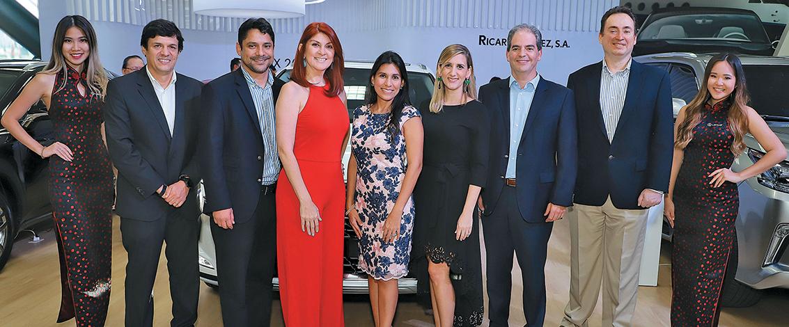 EMPRESARIALES EVENTOS  | Lexus en  Panama Motor Show 2019