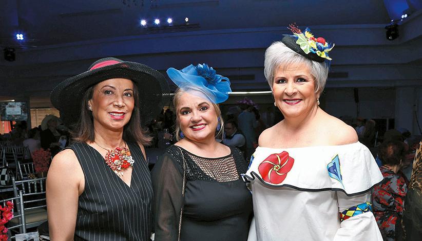 EVENTOS SOCIALES  | El Comité de Ayuda Social celebró la Tarde de Sombreros