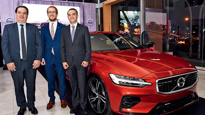 EMPRESARIALES EVENTOS    Lanzamiento del nuevo Volvo S60