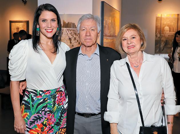 CULTURALES EVENTOS  | Inauguración de la exposición Diálogo entre Europa y Panamá, de la pintora Rossella Gilli