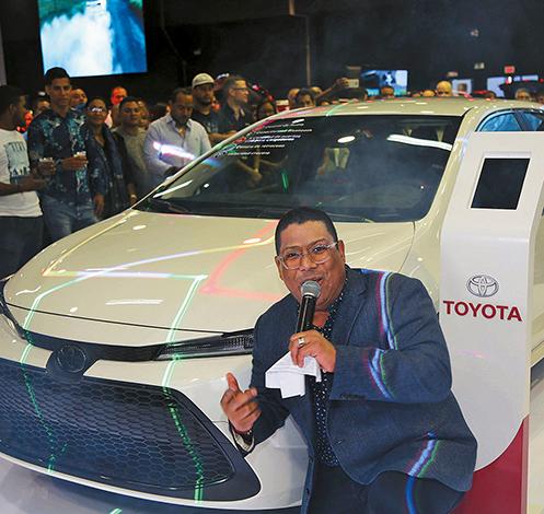 EMPRESARIALES EVENTOS  | Ricardo Pérez S.A lanza los autos Híbridos Autorecargables Toyota