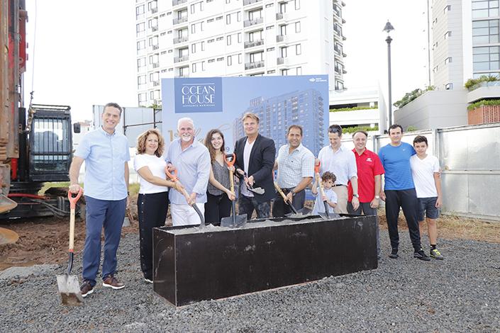EMPRESARIALES EVENTOS  | Grupo Los Pueblos dió la primera palada del proyecto Ocean House