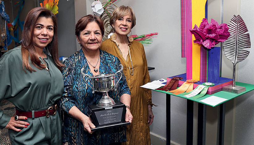 """EVENTOS SOCIALES    XXXII Exposición Estándar de Flores NGC """"Destinos"""""""