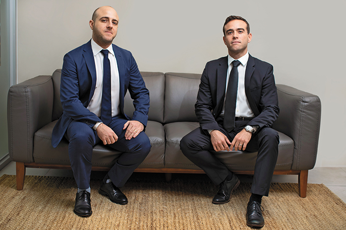 GENTE GERENTE DEL MES  | Daniel y David Larrinaga