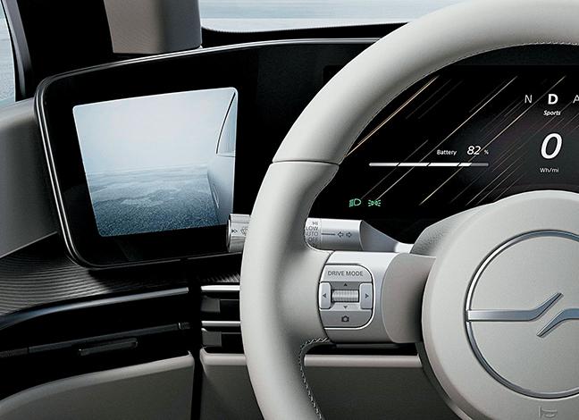 ESPECIALES  | Sony presenta S-Vision, su primer prototipo de automóvil inteligente