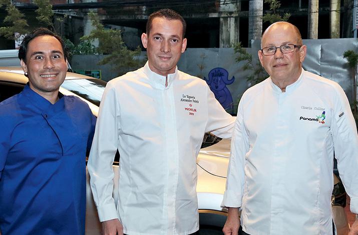 EMPRESARIALES EVENTOS  | El restaurante Salsipuedes del Hotel Bristol recibió al chef francés Alexandre Fabris