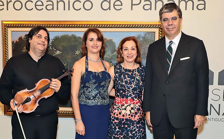 EVENTOS SOCIALES  | Embajada de Italia organizó un concierto en el Museo del Canal Interoceánico