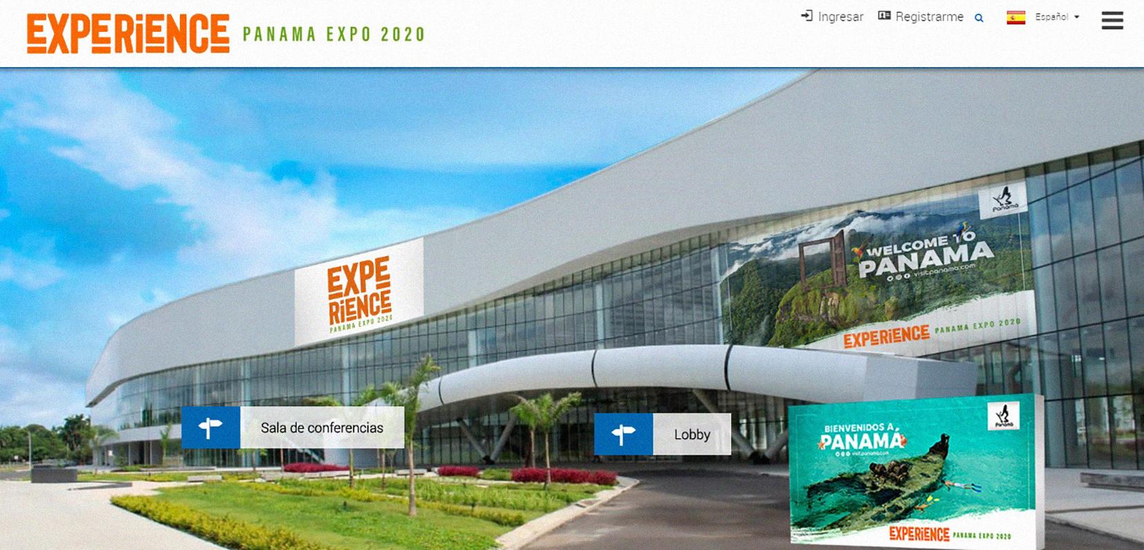 """EMPRESARIALES EVENTOS    Feria virtual de turismo """"Experience Panama Expo"""""""