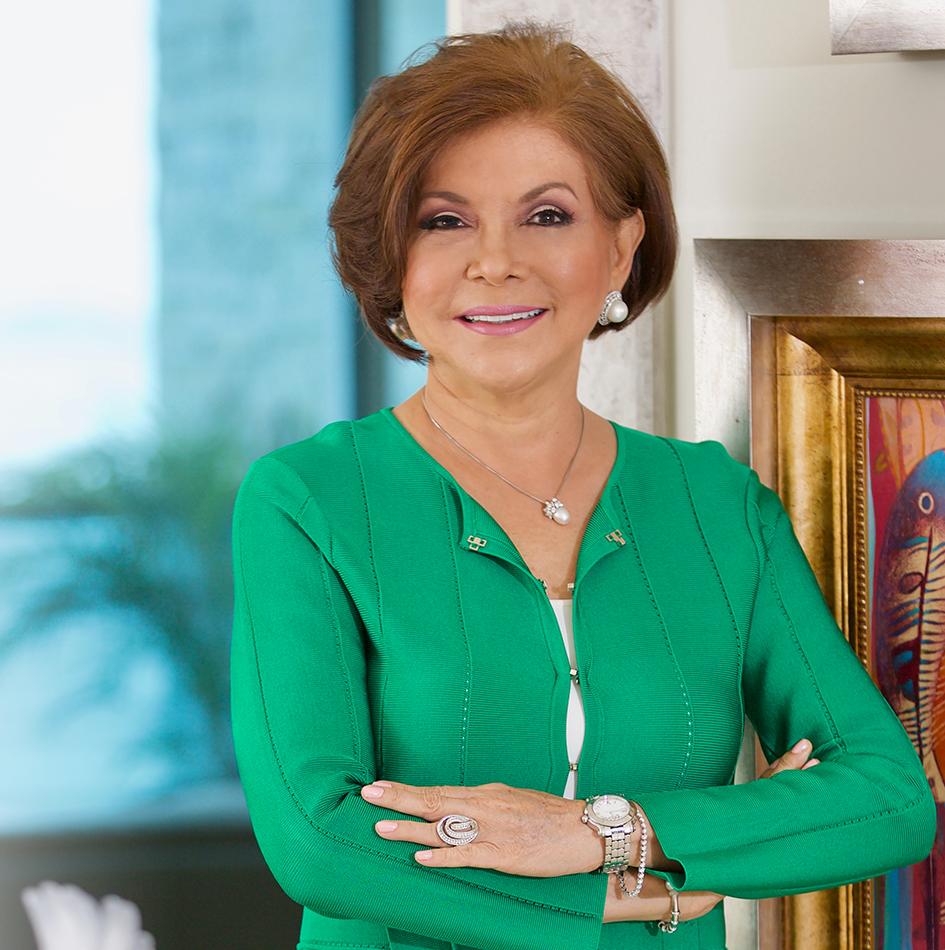 GENTE PORTADA  | CARMEN AMADA PINZON