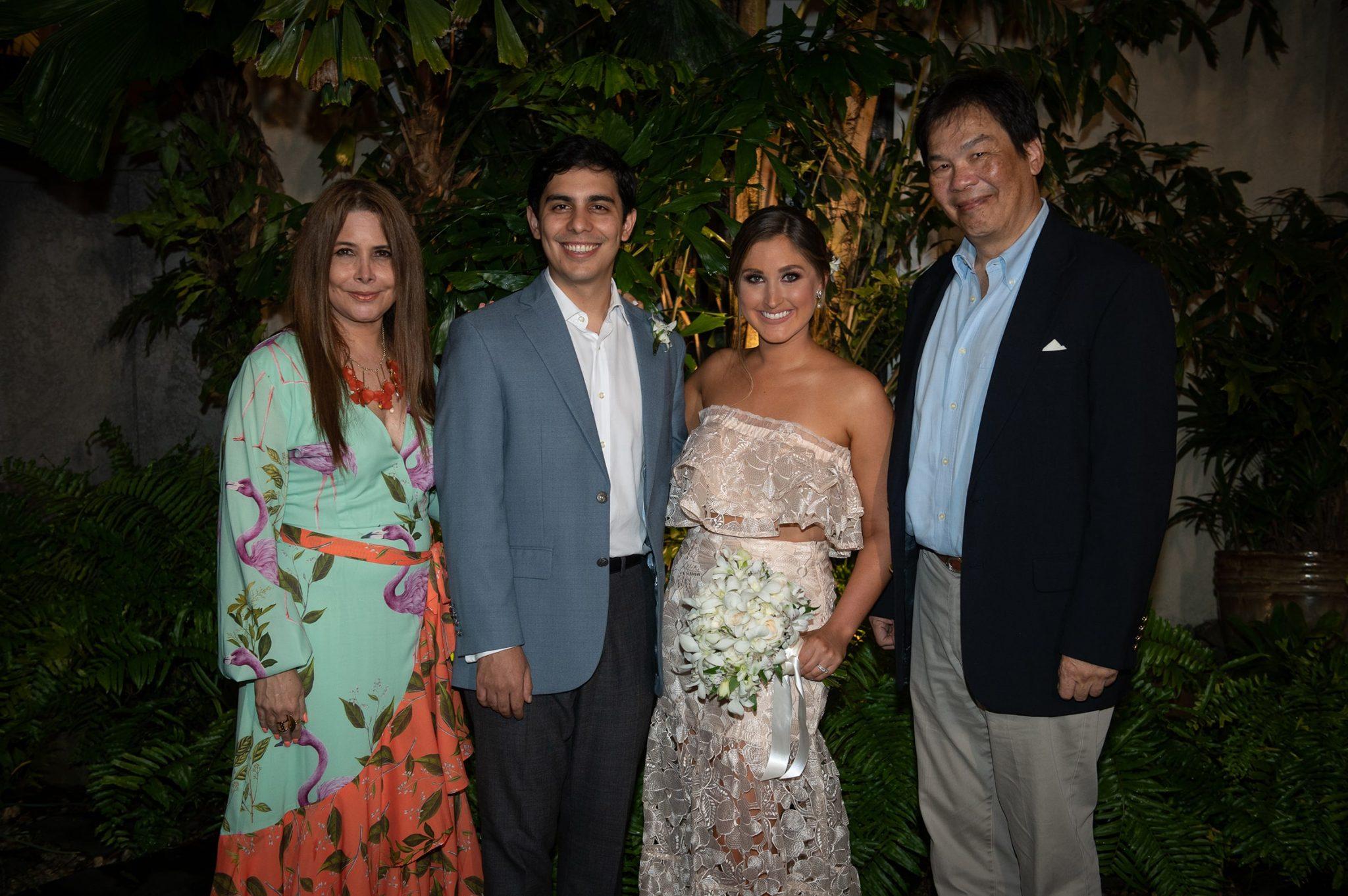 EVENTOS SOCIALES  | Enlace matrimonial entre Javier Yap y Carole Healy