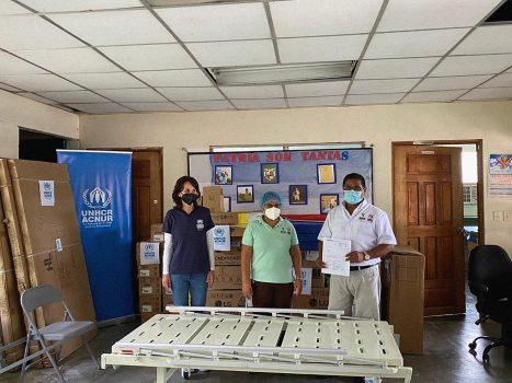 EMPRESARIALES EVENTOS    Donación de equipo de salud